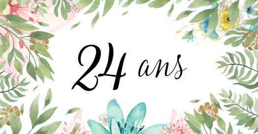 24 ans de lecture